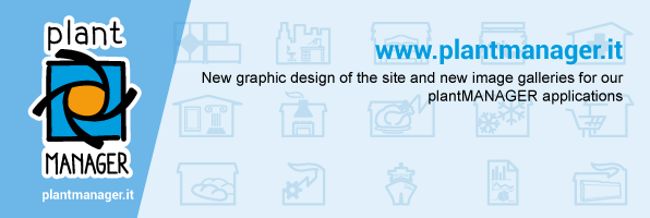 New graphic design of the site and new image galleries for our plantMANAGER applications