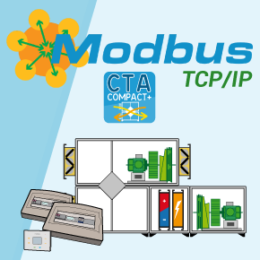MODBUS TCP/IP on CTA COMPACT+ systems