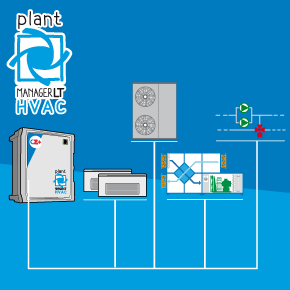 plantMANAGER LT HVAC: Universal acquisition I/O